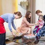 Bí quyết của người giúp việc chăm trẻ